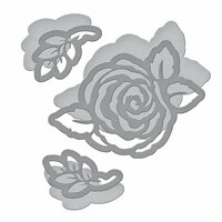 Spellbinders - Flower Garden Collection - Shapeabilities Dies - Corner Floral