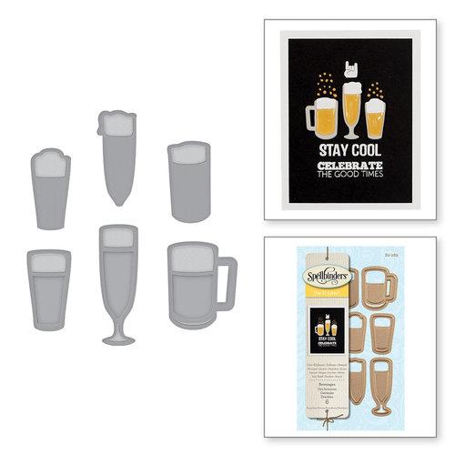 Spellbinders - D-Lites Die - Beverages