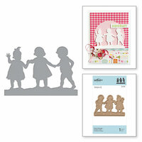 Spellbinders - Little Loves Collection - Etched Dies - First Friends