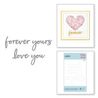 Spellbinders - Expressions of Love Collection - Etched Dies - Expressions of Love Sentiments