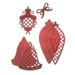 Spellbinders - Holiday Collection - D-Lites Die - Lattice Ornaments