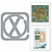 Spellbinders - The Altered Page Collection - Etched Dies - Cross Bars