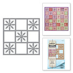 Spellbinders - Celebrate the Day Collection - Shapeabilities Dies - Flower Tile