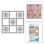 Spellbinders - Celebrate the Day Collection - Shapeabilities Dies - Flower Tile