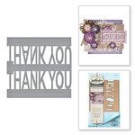 Spellbinders - Celebrate the Day Collection - Shapeabilities Dies - Thank You Pop-Up