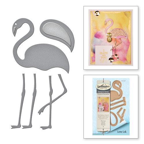 Spellbinders - Tropical Paradise Collection - Dies - Flamingo