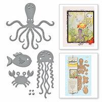 Spellbinders - D-Lites Die - Sea Animals