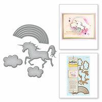 Spellbinders - D-Lites Die - Unicorn Fantasy
