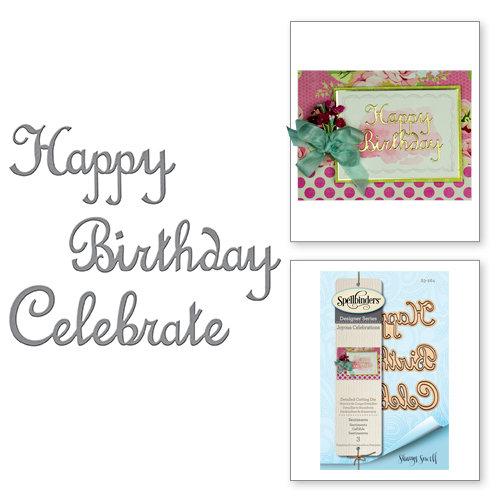 Spellbinders - Joyous Celebrations Collection - Dies - Sentiments