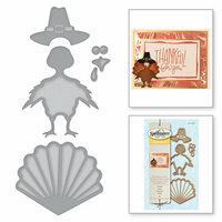 Spellbinders - Holiday Collection - D-Lites Die - Turkey