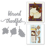 Spellbinders - Holiday Collection - D-Lites Die - Fall Leaves
