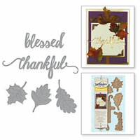 Spellbinders - Holiday Collection - D-Lites Die - Fall Leaves