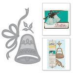 Spellbinders - Holiday Collection - Christmas - D-Lites Die - Holiday Bell