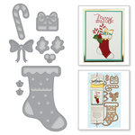 Spellbinders - Holiday Collection - Christmas - D-Lites Die - Build a Stocking