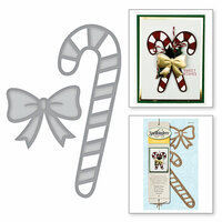 Spellbinders - Holiday Collection - Christmas - D-Lites Die - Candy Cane