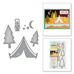 Spellbinders Camping D Lites Die