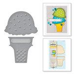 Spellbinders - D-Lites Die - Ice Cream Yummy