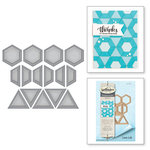 Spellbinders - Quilt-It Collection - D-Lites Die - Gems
