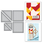Spellbinders - Quilt-It Collection - D-Lites Die - Block