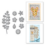 Spellbinders - Happy Grams 4 Collection - Shapeabilities Dies - Bitty Posies