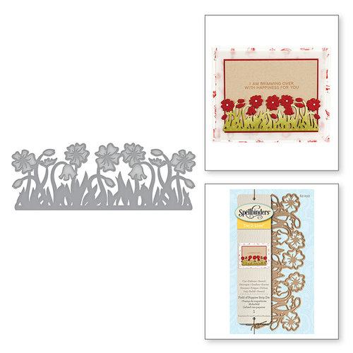 Spellbinders - D-Lites Die - Field of Poppies