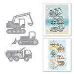 Spellbinders - D-Lites Die - Tractors