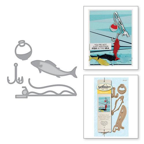 Spellbinders - D-Lites Die - Fishing Trip
