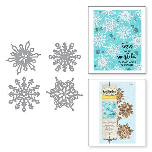 Spellbinders - D-Lites Die - Snowflakes
