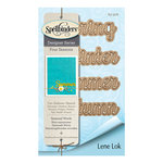 Spellbinders - Four Seasons Collection - Etched Dies - Seasonal Words