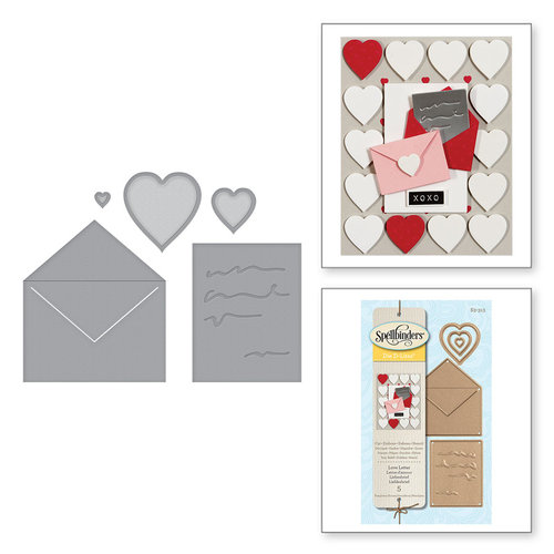 Spellbinders - D-Lites Die - Love Letter