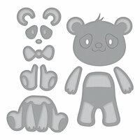Spellbinders - D-Lites Die - Build a Panda