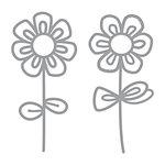Spellbinders - D-Lites Die - Sketched Blooms 2