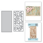 Spellbinders - Exquisite Splendor Collection - D-Lites Die - Leaf Border