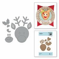 Spellbinders - Christmas - D-Lites Die - Reindeer