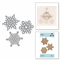 Spellbinders - Christmas - D-Lites Die - Snowflakes
