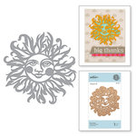 Spellbinders - Great, Big, Wonderful World Collection - D-Lites Die - Sun Face