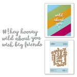 Spellbinders - D-Lites Die - Etched Dies - Wild About You