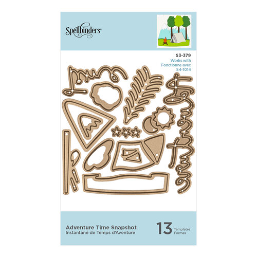 Spellbinders - Scenic Snapshots Collection - Etched Dies - Adventure Time Snapshots