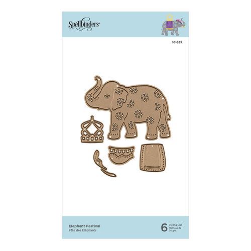 Spellbinders - D-Lites Die - Elephant Festival