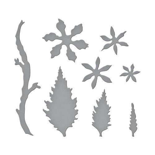 Spellbinders - Susan's Spring Flora Collection - Etched Dies - Kerria Japonica