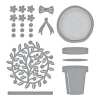 Spellbinders - Open House Collection - Etched Dies - Open House Topiary