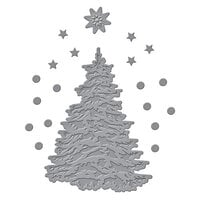 Spellbinders - Trim A Tree Collection - Etched Dies - O Christmas Tree