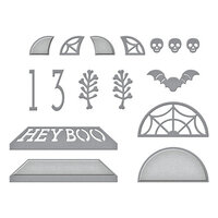 Spellbinders - SB Open House Collection - Etched Dies - Open House Halloween