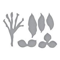 Spellbinders - Susan's Tropical Getaway Collection - Etched Dies - Plumeria