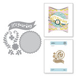 Spellbinders - Happy Collection - Shapeabilities Dies - Etched Dies - Its Your Day
