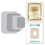 Spellbinders - The Gilded Age Collection - Etched Dies - Nested Rectangle