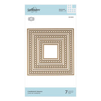 Spellbinders - Candlewick Classics Collection - Etched Dies - Squares