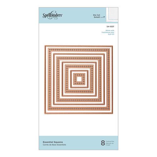 Spellbinders - Etched Dies - Essential Squares