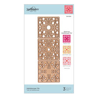 Spellbinders - Flourished Fretwork Collection - Etched Dies - Kaleidoscope Tile