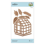 Spellbinders - Flourished Fretwork Collection - Etched Dies - Botanical House